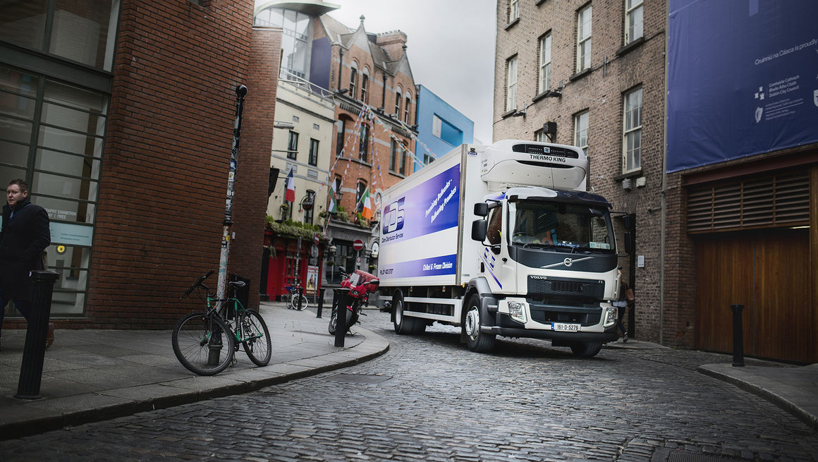 Deliveries in Dublin