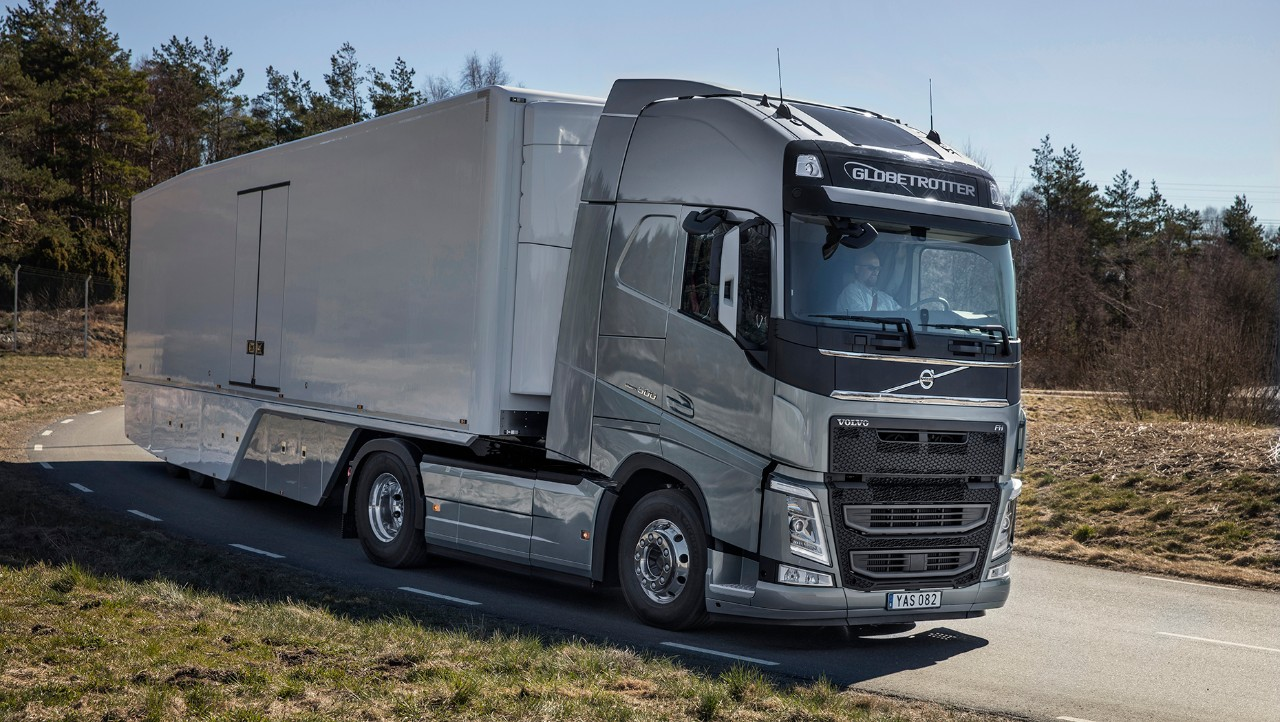 Volvo FH close-up